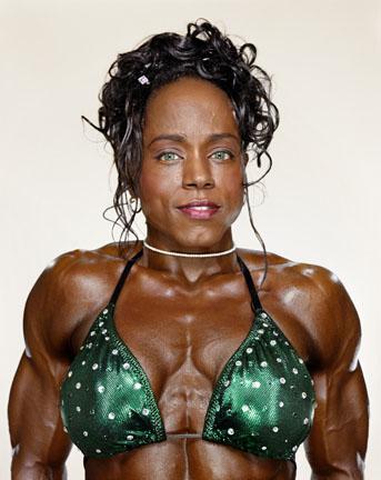 lesbian Female bodybuilder