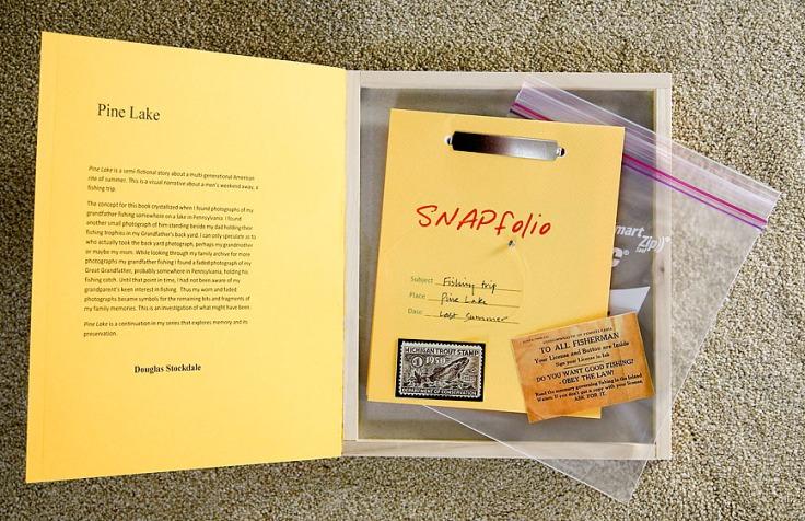 douglas_stockdale_pine_lake_interior_book_with_memorbilia