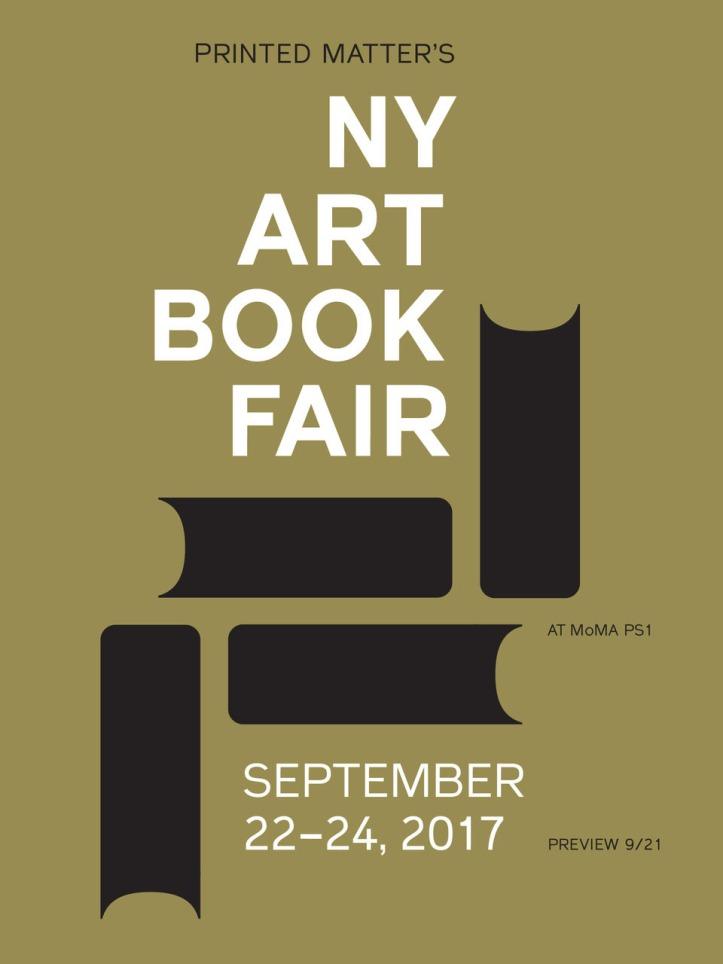 NY Art Book Fair 2017 logo