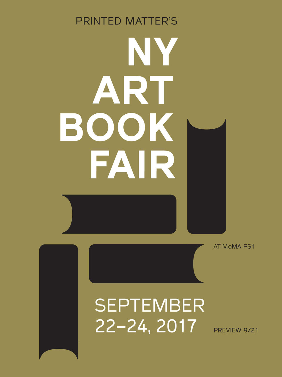 NY Art Book Fair 2017 logo